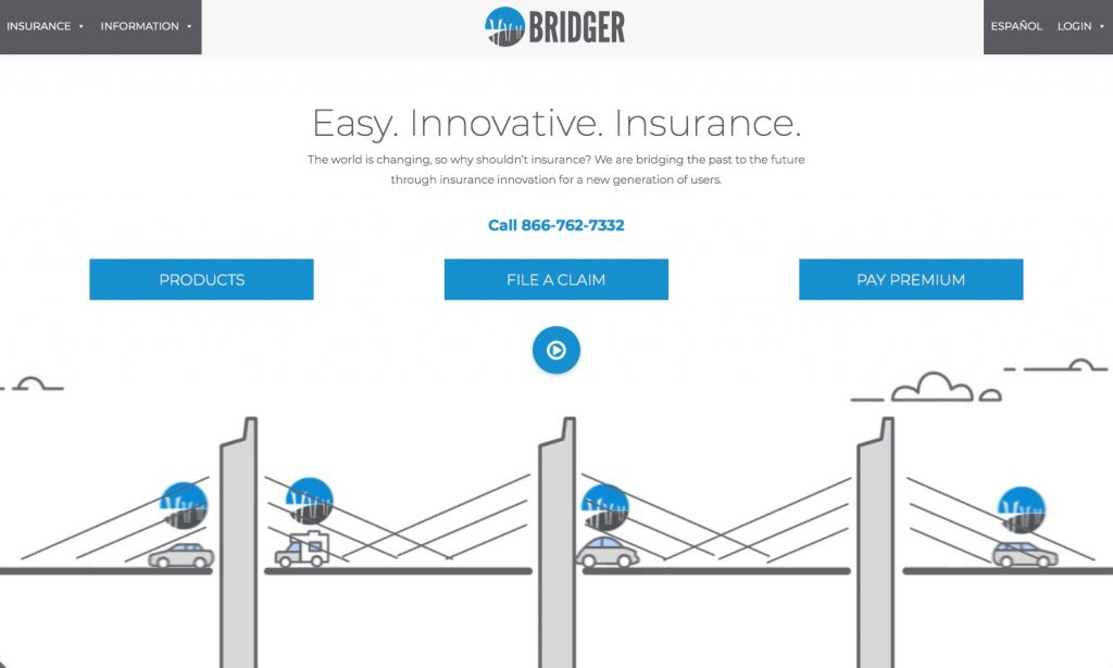 Bridger web site